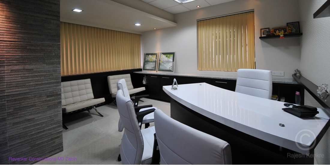 Office interior designers goa commercial spaces for Office cabin interior